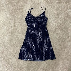Navy Tribal Print H&M Dress